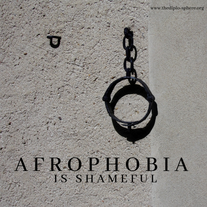 Afrophobia is shameful